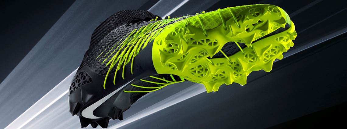 Nike has invested in 3D printing for on-demand personalised shoe soles ©Nike