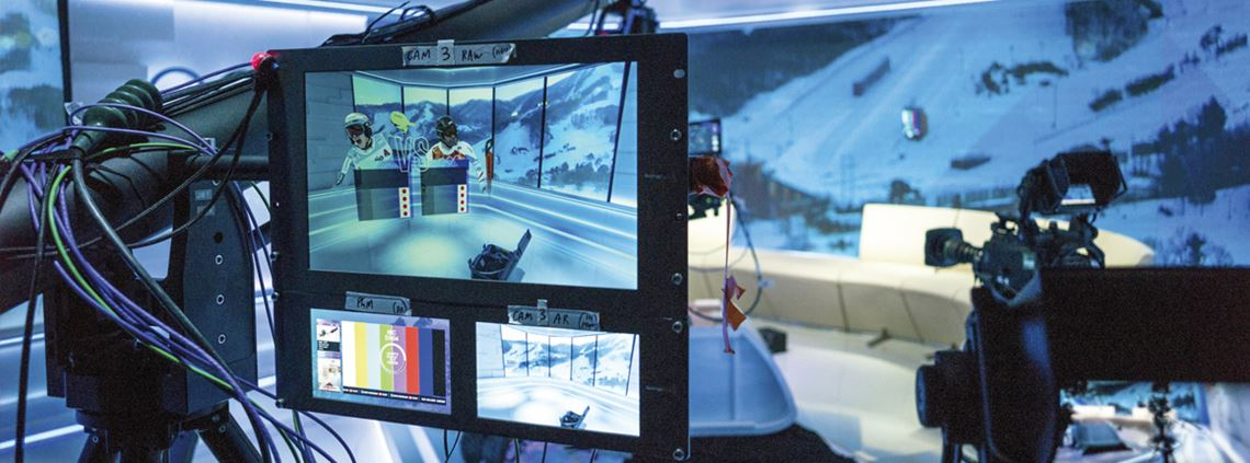 Discovery Networks built an international broadcast centre from scratch in PyeongChang ©DCarlier for Eurosport