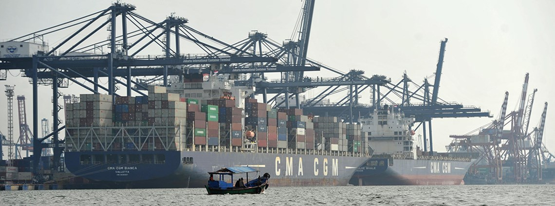 The rules mean exporters and importers must use Indonesian shippers for certain commodities © PA Images