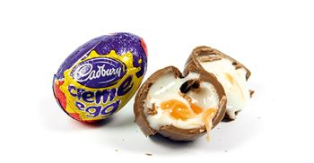 Cracked it: the gooey chocolate egg is still an Easter favourite