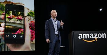 Recent Bezos moves include buying grocery store chain Whole Foods and launching the Echo © PA Images