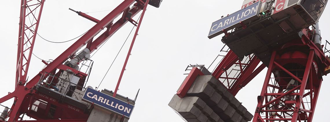 Subcontractors were left being owed millions after the sudden collapse of Carillion ©PA Images