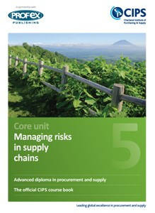 Managing risks in supply chains plus recommended reading book
