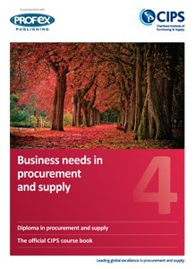 D2 - Business Needs in Procurement and Supply