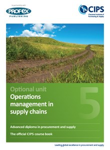 Operations Management in Supply Chains Course Book and Recommended Reading