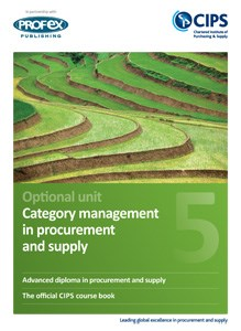 Category Management in Procurement and Supply Course Book and Recommended Reading