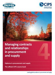 Managing Contracts and Relationships in Procurement and Supply Course Book and Recommended Reading