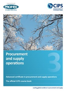 Procurement and Supply Operations Course Book and Recommended Reading