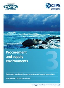 Procurement and Supply Environments Course Book and Recommended Reading