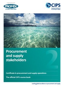 Procurement and Supply Stakeholders Course Book and Recommended Reading book