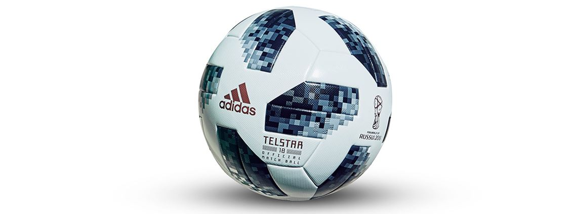 The official 2018 World Cup match ball ©Adidas
