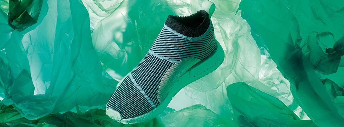 Adidas Parley trainers are made from recycled ocean plastic ©Anthony Cotsifas for Adidas