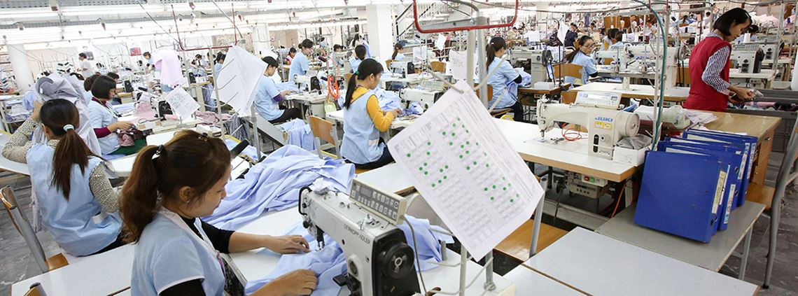 The garment, textile and footwear industry is particularly at risk of automation ©DPA/PA Images