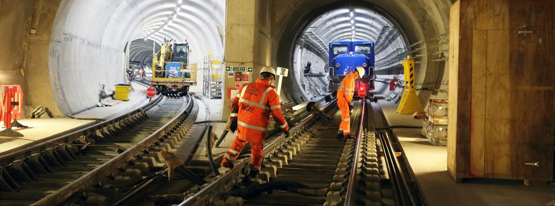 Crossrail was praised for including procurement in the design process ©Crossrail Ltd