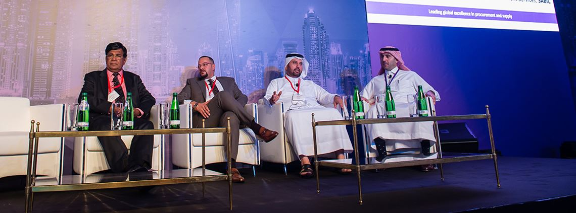 Focus on relationships and talent, the panel at the CIPS Middle East Conference agreed