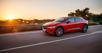 The I-Pace is Jaguar Land Rover's first fully electric vehicle © Jaguar Land Rover