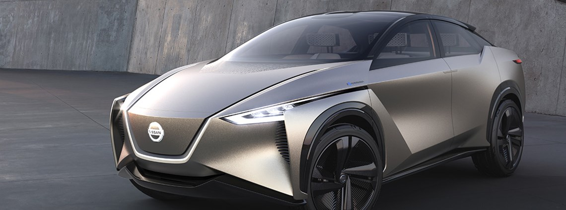 The Nissan IMx Kuro electric crossover concept vehicle © Nissan