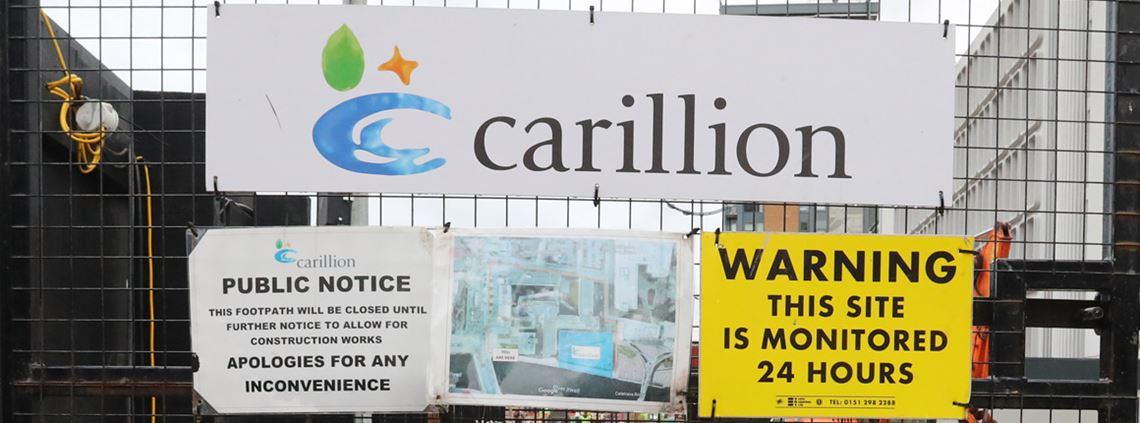 Lidington said the collapse of Carillion had crystallised a breakdown in trust between government and businesses ©PA Images