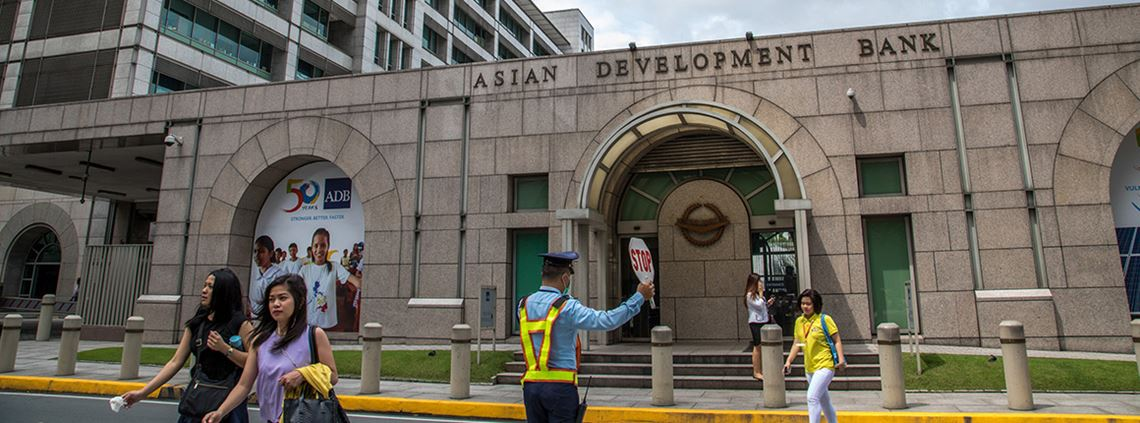 The ADB has increased the amount it spends on services locally in the Philippines © Mark Floro for ADB