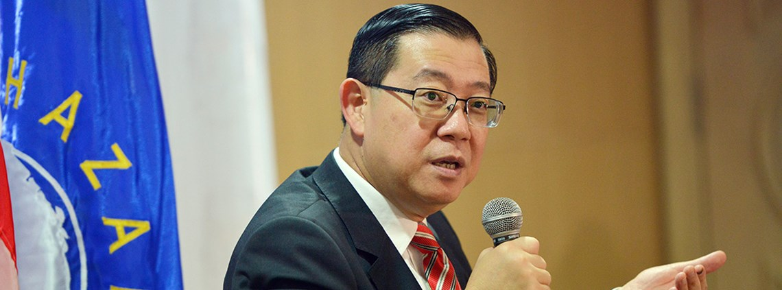 Lim Guan Eng said transactions were 'highly suspicious' © Xinhua/PA Images