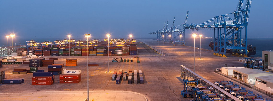 Blockchain could cut transport costs at Abu Dhabi Ports © Abu Dhabi Terminals