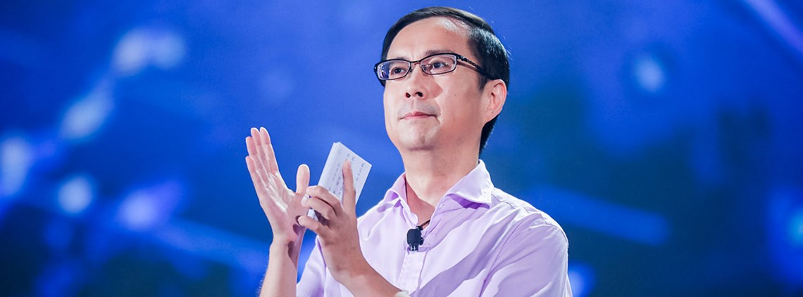 Alibaba CEO Daniel Zhang said ZTO had been an important partner in developing the new digital economy