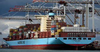 Maersk's surcharge adds $60 onto the cost of shipping a 20ft container ©PA Images