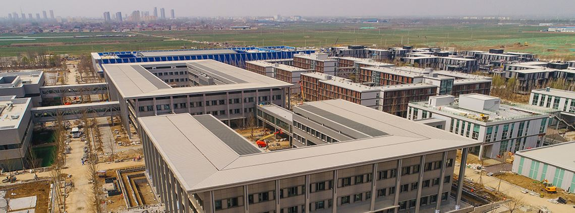 Xiongan New Area will incorporate 'intelligent infrastructure' © Xinhua News Agency/PA Images