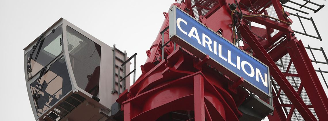 It is estimated £498m was misclassified as a result of Carillion's early payment facility  © PA Wire/PA Images