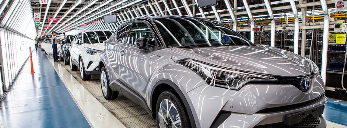 Toyota was the only manufacturer to buck the trend and see an improvement in SRM ©Toyota PLC