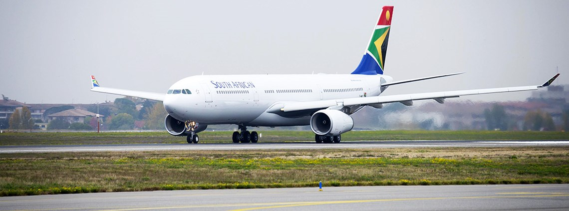 Last year it emerged SAA was on the verge of bankruptcy © A Doumenjou/Airbus