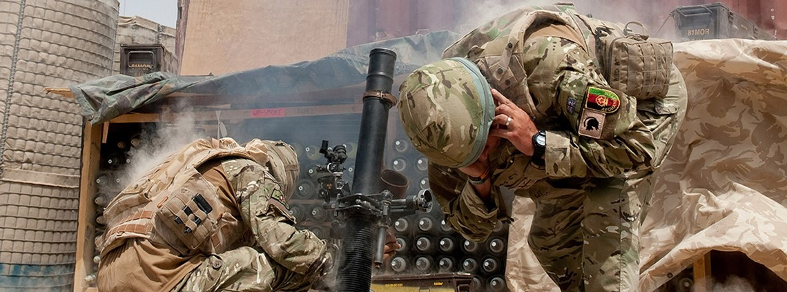 The MoD lacks cost control and faces a potential £20.8bn 'affordability gap' © Crown copyright