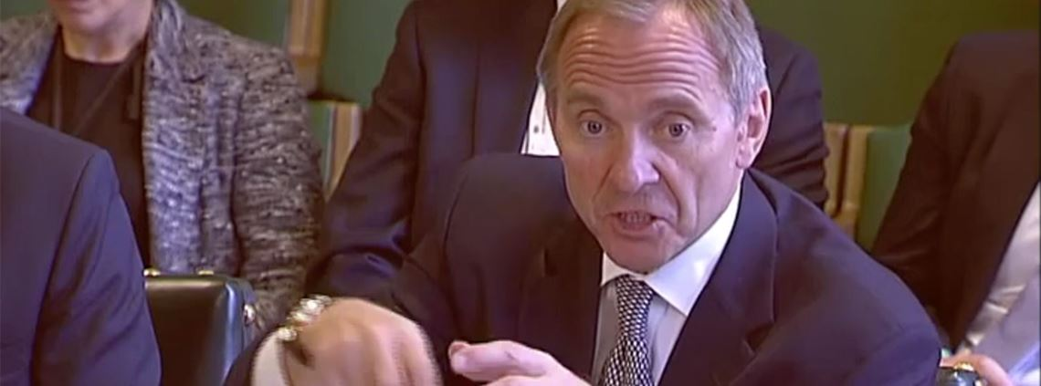 Manzoni said government had lacked the sophistication to award contracts on more than price ©UK Parliament