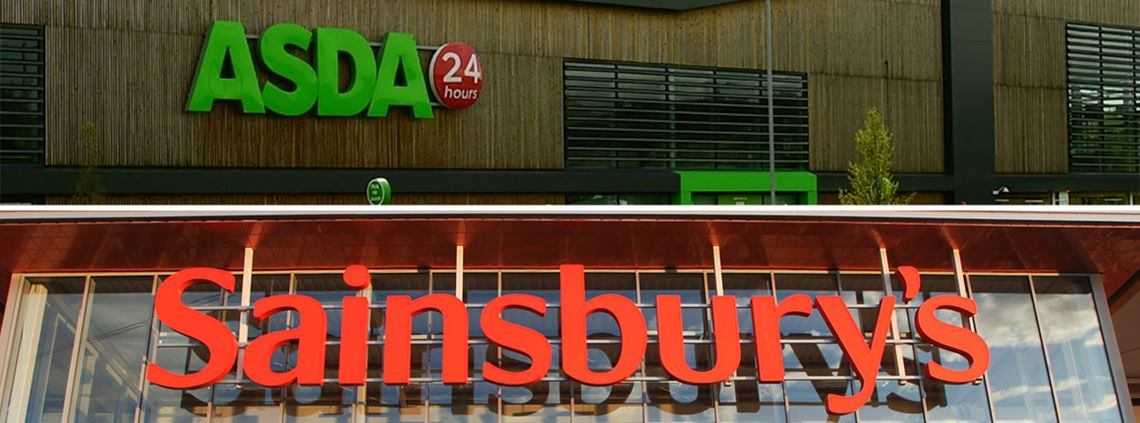 The merger will reportedly create the UK's largest grocery firm ©J Sainsbury plc, Asda
