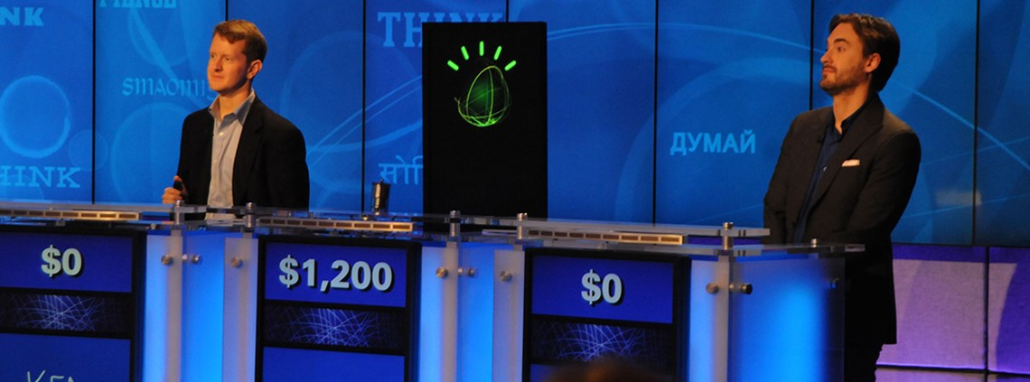 IBM's Watson computer famously beat human contestants in US game show Jeopardy