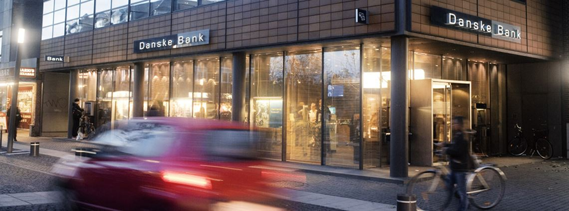 Procurement is acquiring clients for the bank © Danske Bank