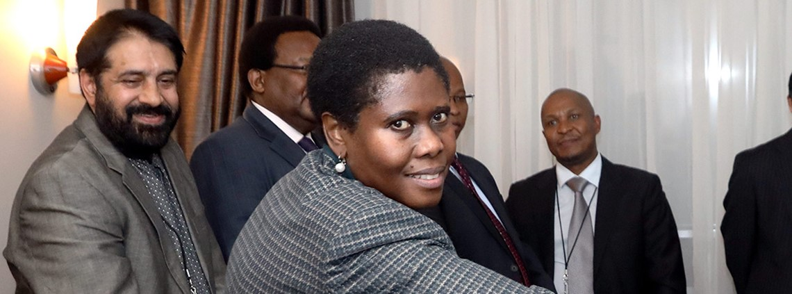 The SSA denies security minister Dipuo Letsatsi-Duba disregarded supply chain processes  © Xinhua News Agency/PA Images