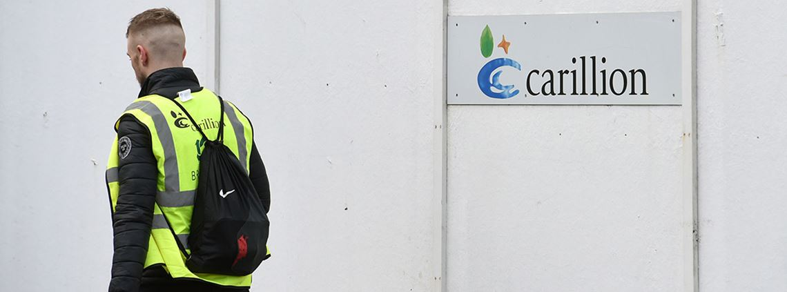 One-sixth of the Carillion's workforce has been laid off since the liquidation process began ©PA Images
