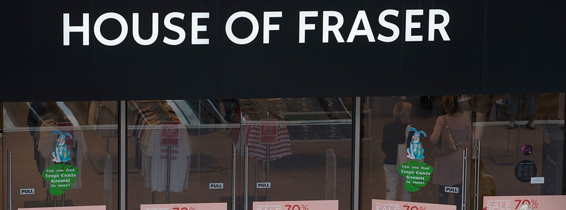 Sports Direct and XPO Logistics are in deadlock over a £30m House of Fraser debt ©PA Images