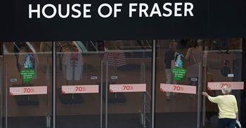 Sports Direct and XPO Logistics are in deadlock over a £30 million House of Fraser debt ©PA Images