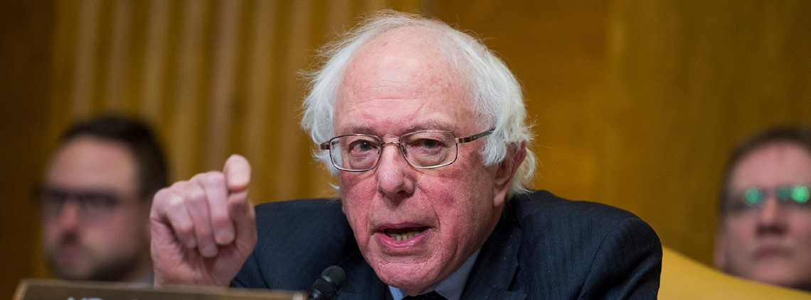 "Sanders has previously criticised the company for being part of a ""rigged economy"" ©PA Images"