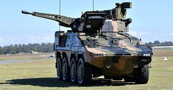 In April, the MoD was criticised for announcing a German armoured personnel carrier, the Boxer, as its preferred choice to equip strike brigades without holding a competitive tender ©PA images