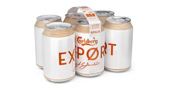 Carlsberg said the glue used to join multipacks was fully recyclable ©Carlsberg