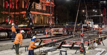 Transport for NSW, responsible for a number of large infrastructure projects, was the state's biggest buyer of consultancy services ©Transport for NSW