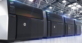 The HP Metal Jet has a printing bed size of 430 x 320 x 200mm ©HP Development Company, L.P