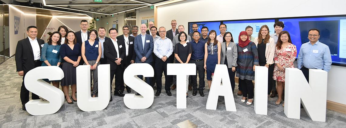 The Sustain alliance includes Apical, Asian Agri, Neste and SAP ©247PICTURES