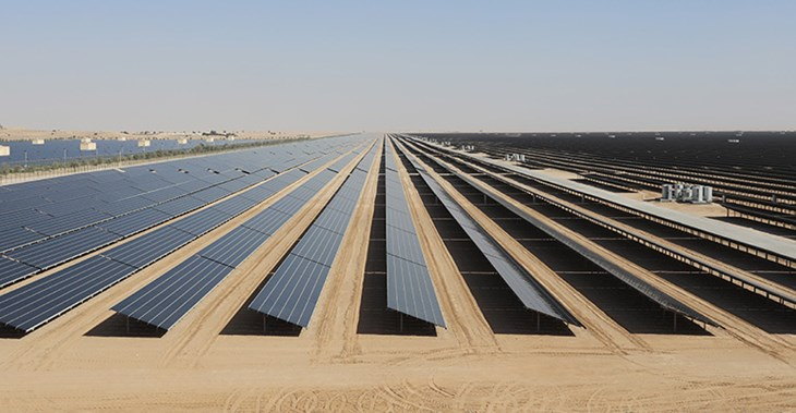 "The UAE's target of using 27% clean energy by 2021 was described as ""a clear indicator of success"" of the country's energy policy by a report ©Zuma Press/PA Images"
