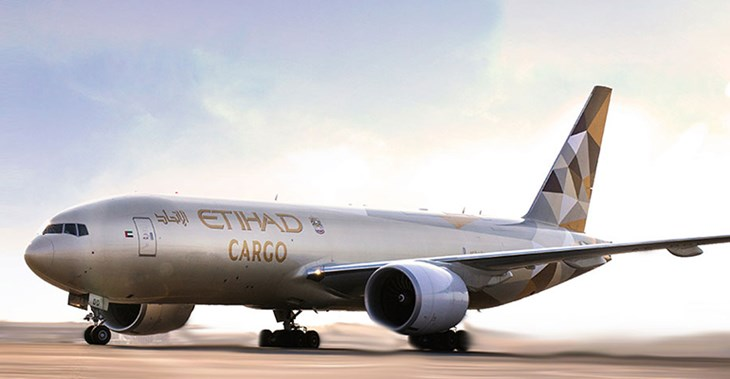 Etihad transported more than 90,000 tons of perishable goods over the last 12 months ©Etihad Cargo