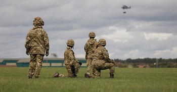 A third of public sector clothing suppliers, including those for the military, have not yet published a modern slavery statement, said a report ©MoD/Crown copyright 2018