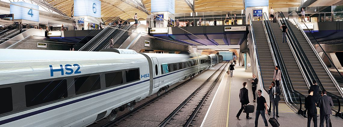 HS2 contracts can be won or lost on a supplier's diversity performance ©HS2/Grimshaw